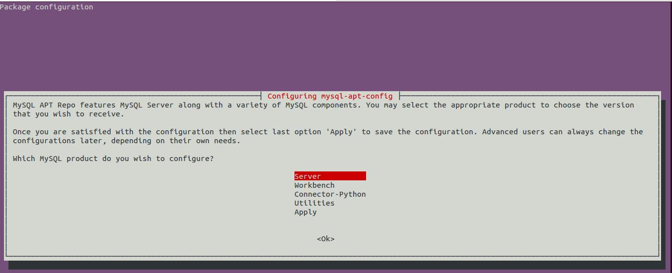configure-mysql-apt-config